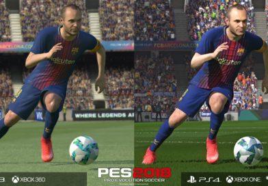 PES 2018 – Video Confronto Ravvicinato Versioni PS4 e PS3