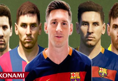 10 anni di Messi da PES 2008 a PES 2018