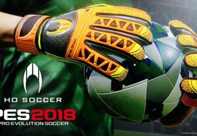 PES 2018 – Konami rinnova l'accordo con la società di guanti HO Soccer