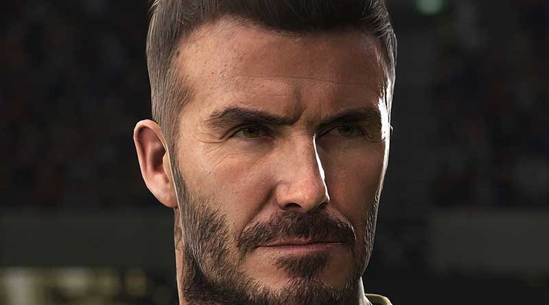 PES 2019 – Due Nuove Immagini di David Beckham