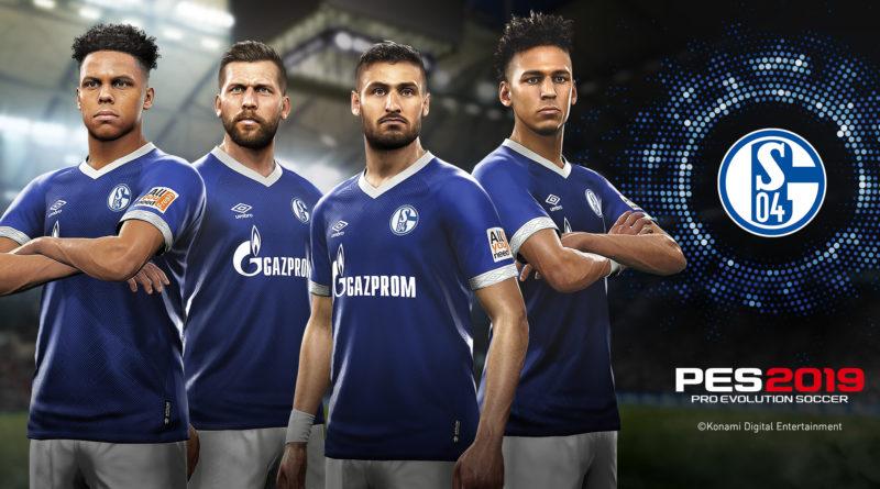 PES 2019 – Immagini di giocatori e stadio dello Schalke 04