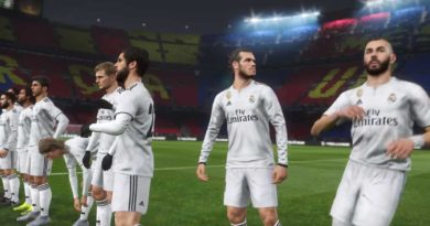 pes 2019 real madrid