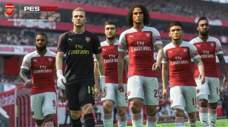 PES 2019 Arsenal