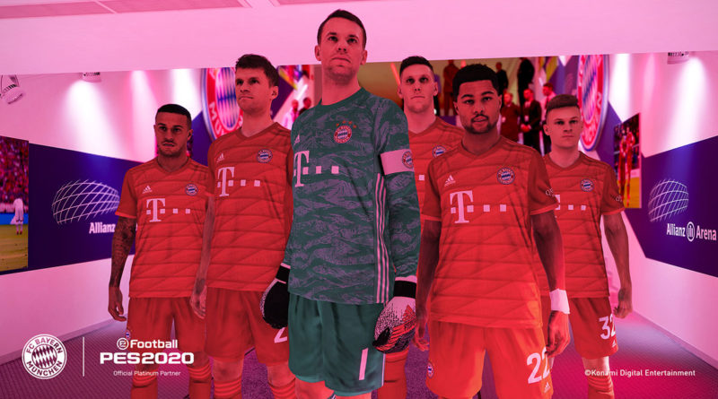 PES 2020 Bayern Monaco