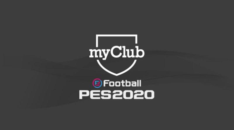PES 2020 – Video Aggiornamento MyClub 11 Novembre