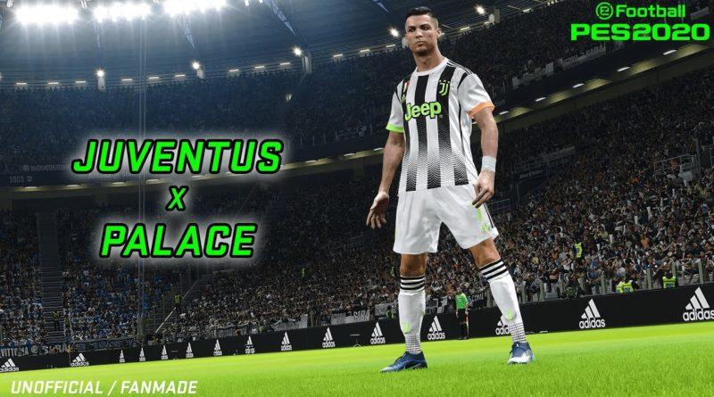 PES 2020 – Come avere la divisa Juventus X Palace!