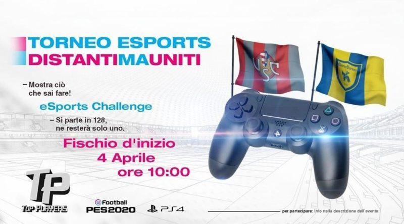 PES 2020 – Torneo per Squadre Ufficiali Chievo e Cremonese a scopo benefico