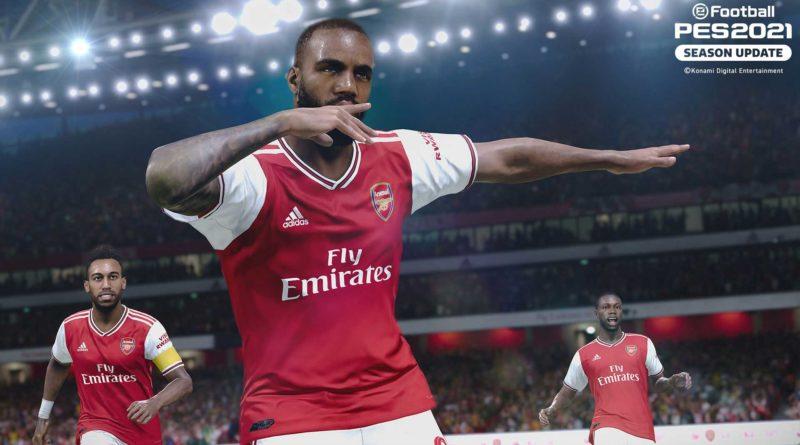 PES 2021 Aggiornamento English: Pool e Agenti Squadra Liverpool e Arsenal da non perdere!
