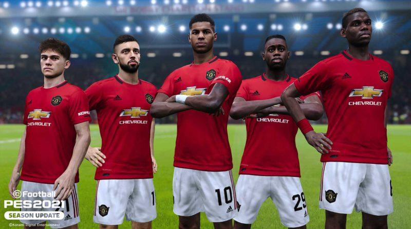 PES 2021 – Vota l'MVP del Manchester United e ottieni 300 punti eFootball