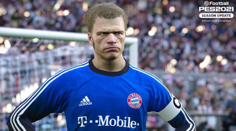 PES 2021: Le Leggende del Bayern Monaco in Regalo Oggi!