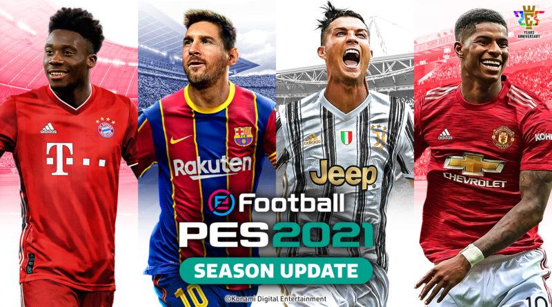 PES 2021 Matchday – Differenze premi fino a Domenica