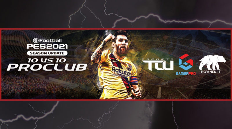 TCU Esports – Arriva il Torneo 10vs10 di PES 2021