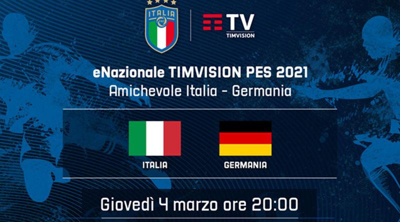 eNazionale TIMVISION PES – Stasera Italia Germania