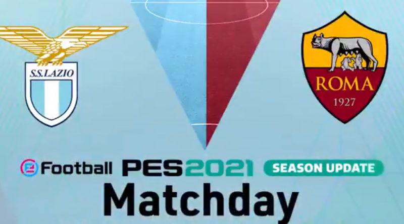 PES 2021: I calciatori Pedro e Pereira protagonisti del derby digitale di Roma